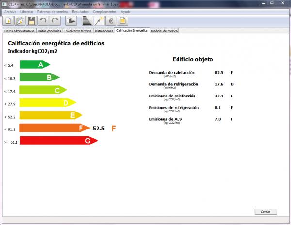 CE3X Calificación Energética