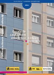 escala calificacion edificio existente