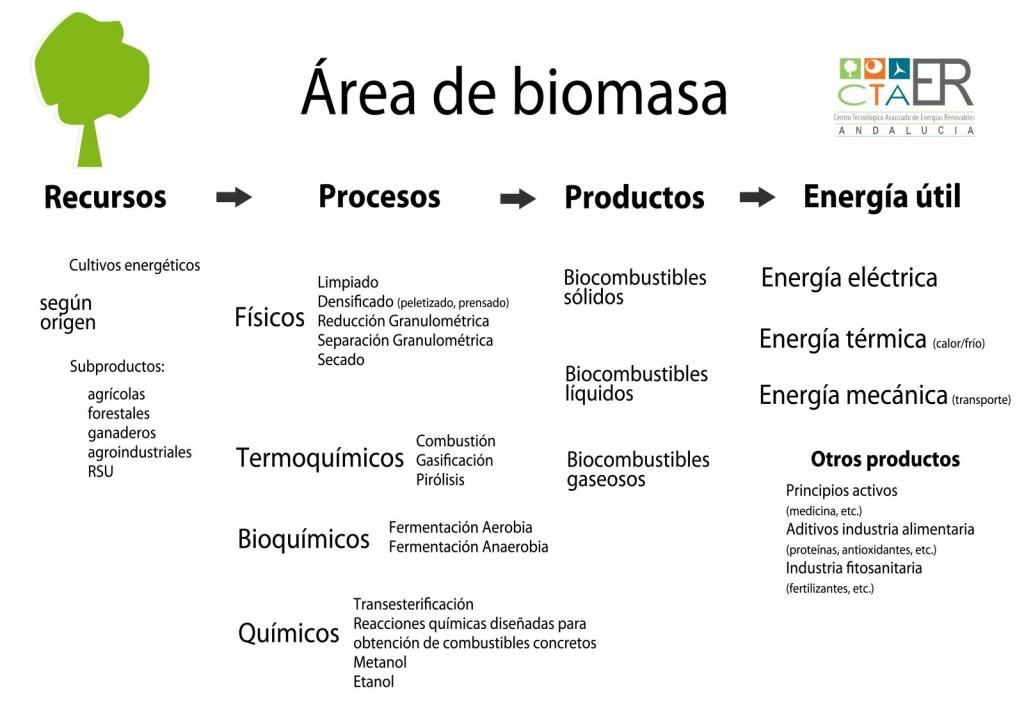aplicaciones biomasa energia