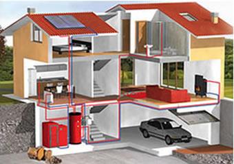 caldera biomasa vivienda unifamiliar