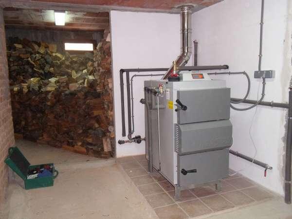 calderas biomasa almacenamiento obra