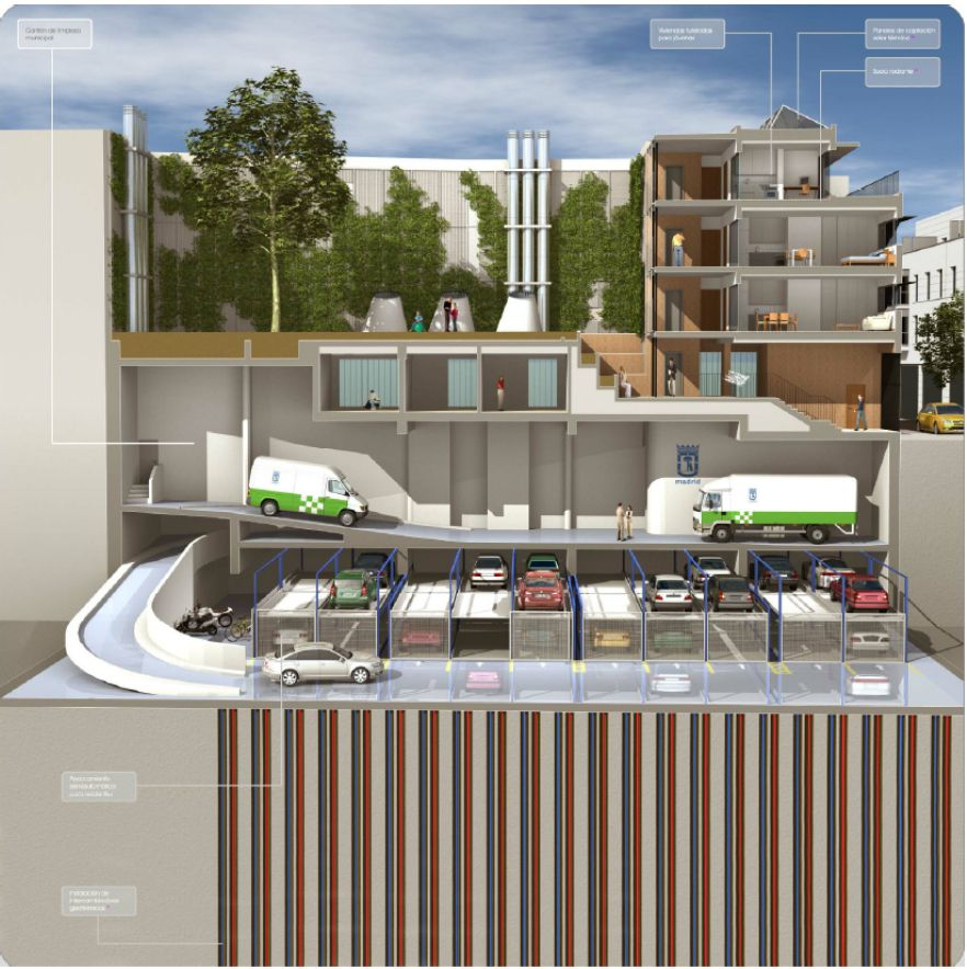 geotermia edificio residencial