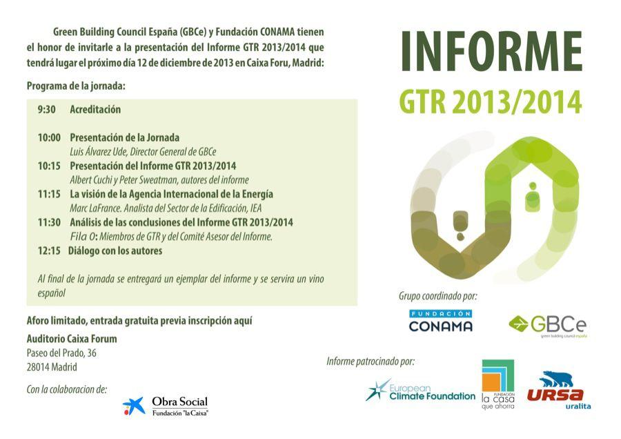 presentacion gtr 2013 2014 madrid