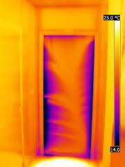 termografia blower door