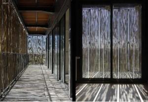 bambu edificio piel vivienda social foa