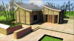casa bioclimatica bambu