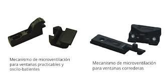 mecanismo microventilacion ventana permeabilidad