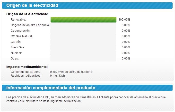 tarifa factura energia