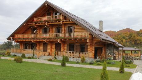 casa madera troncos