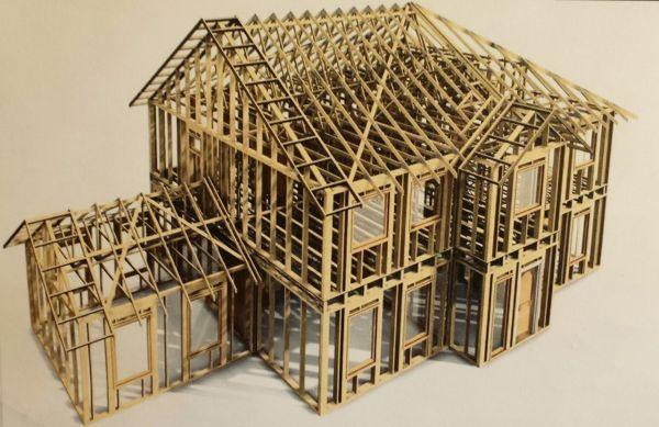 casas madera entramado ligero
