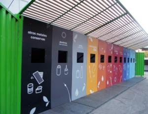 almacenamiento recogida residuos reciclados