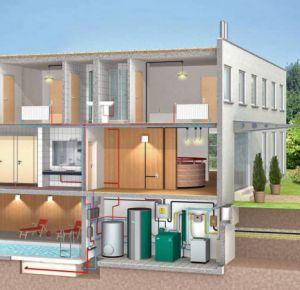 micro cogeneración vivienda construible