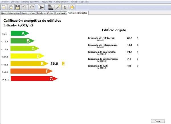 calificacion energetica vivienda unifamiliar ce3x