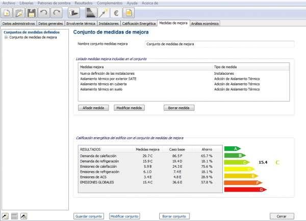 medidas mejora rehabilitacion energetica ce3x