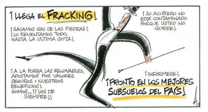 fracking impacto negativo medio ambiente