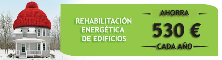 rehabilitacion energetica edificios ahorro