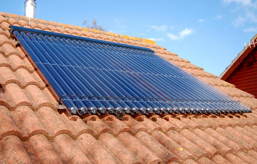 panel solar vivienda acs