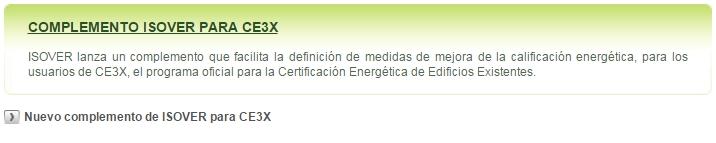 complemento isover certificado certificadores