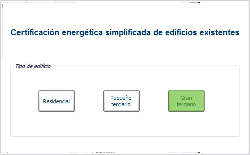 ce3x gran terciario certificado energetico