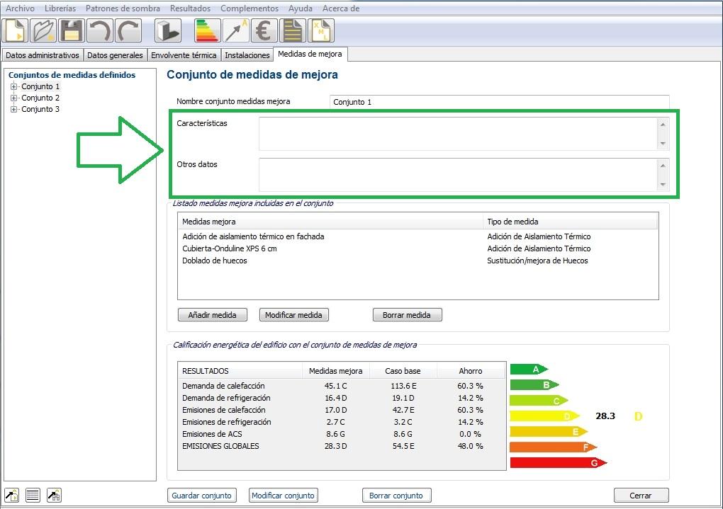 medidas mejora ce3x v 2 1 certificado energetico