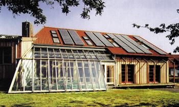 invernadero adosado vivienda calor solar