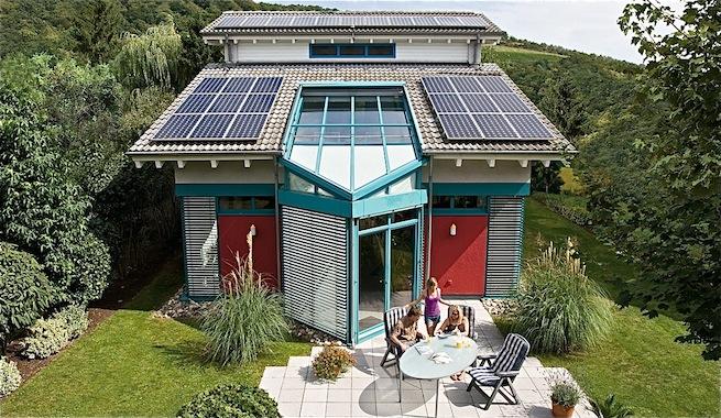 invernadero vivienda solarium