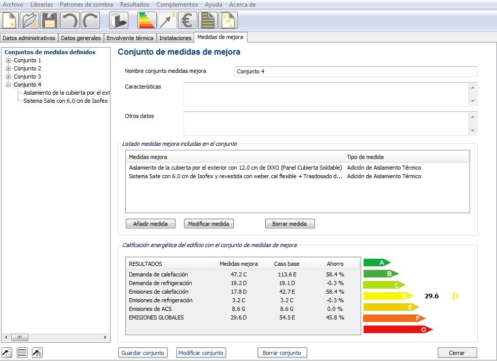 complemento ce3x panel medidas mejora caracteristicas