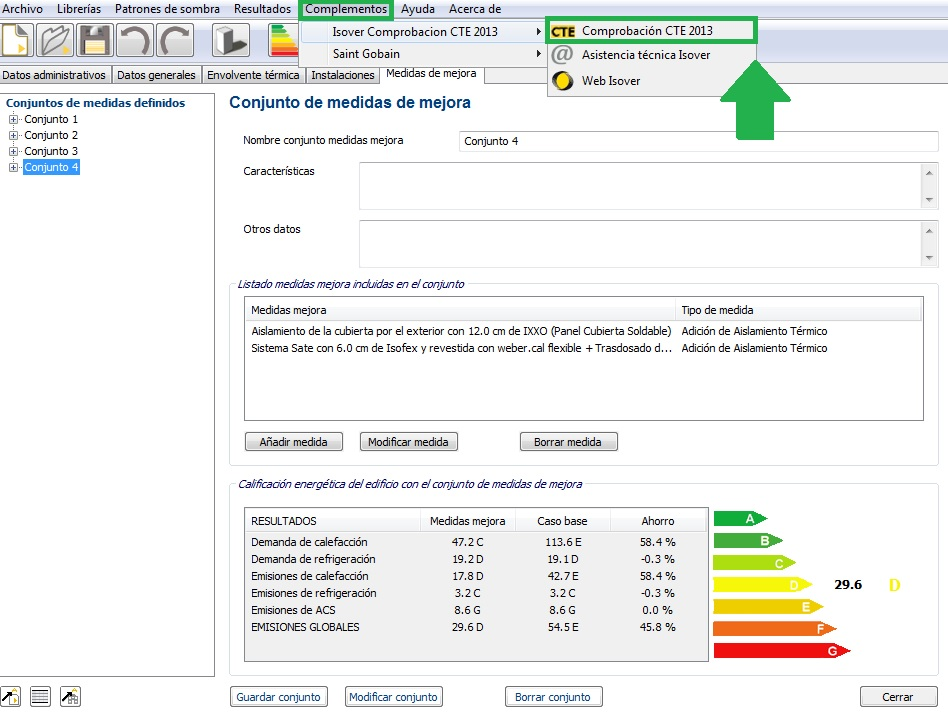 complemento ce3x verifica cumplimiento requisitos HE1 HE0