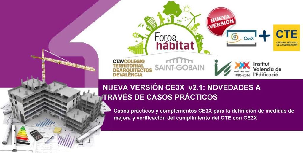 complemento CE3X foros habita certificados enegeticos