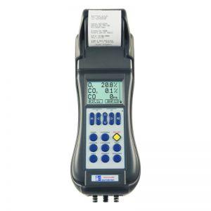 medir aparato equipo analizador gases registro valores