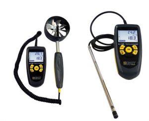 medir aparato equipo anemometro termohigrometro