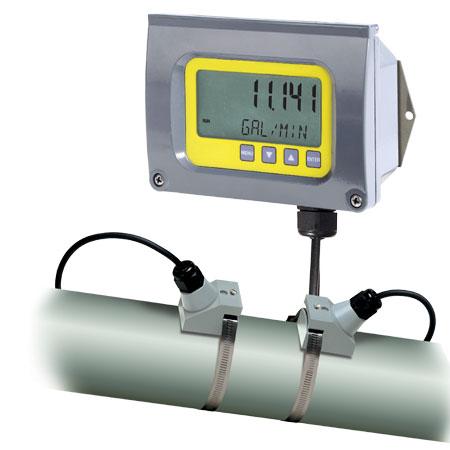 medir aparato equipo caudalímetro