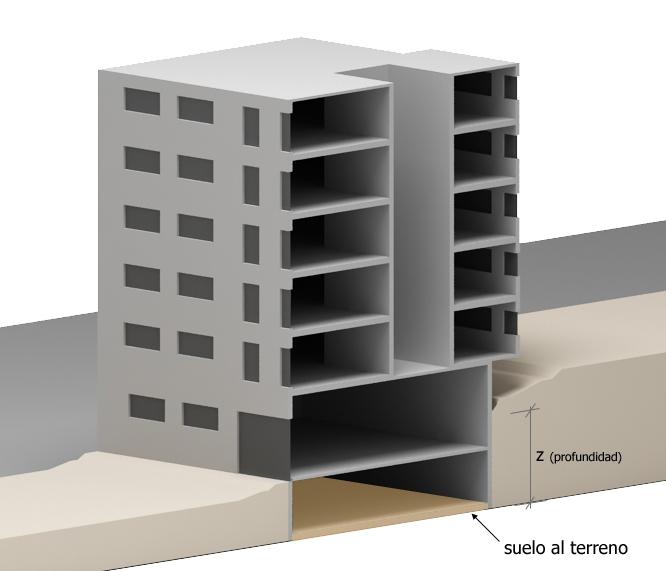 cerma suelo envolvente termica edificio transmitancia termica
