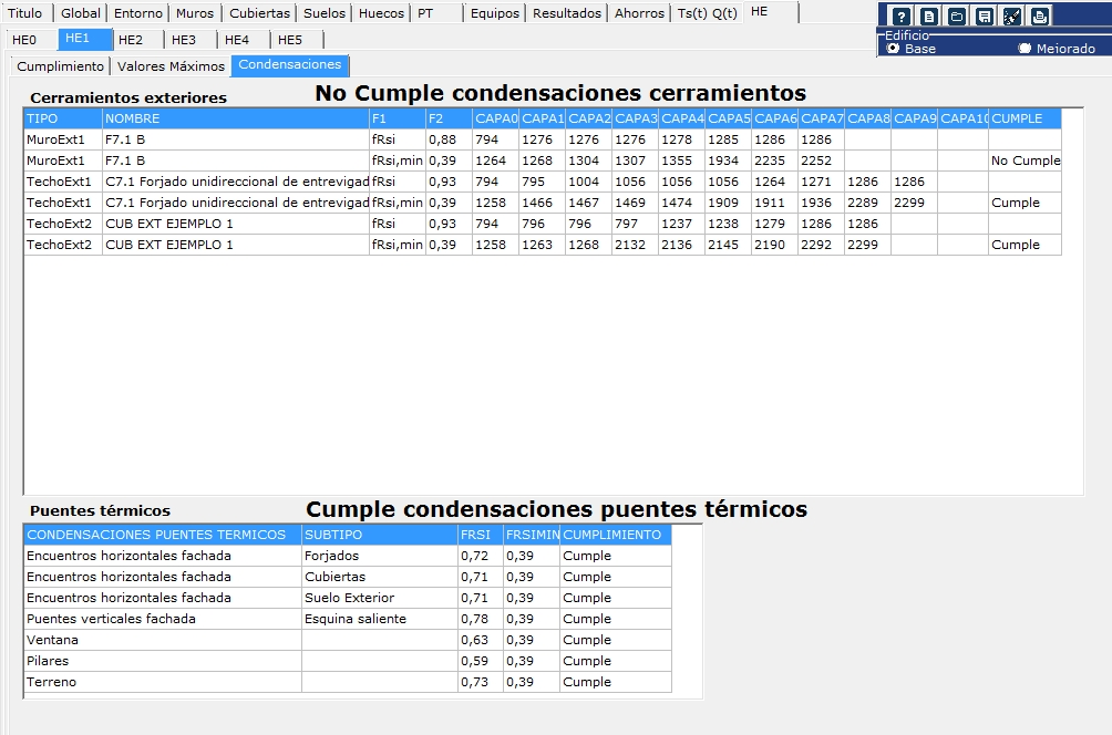 DB HE cumplimiento valores maximos condensacioens intersticiales