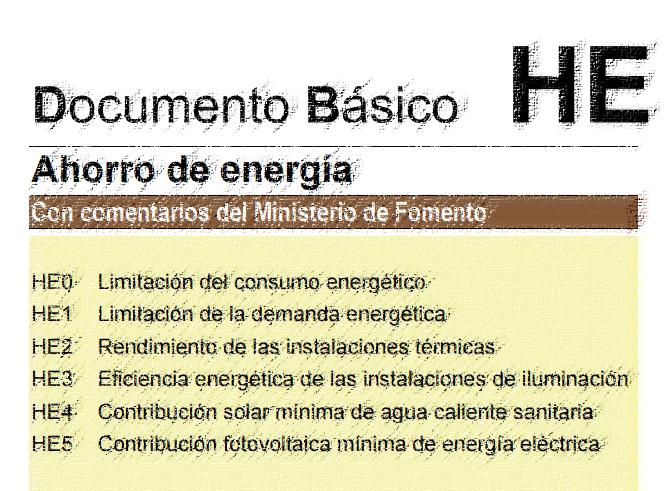 DB HE cerma certificado energetico edificio uso residencial