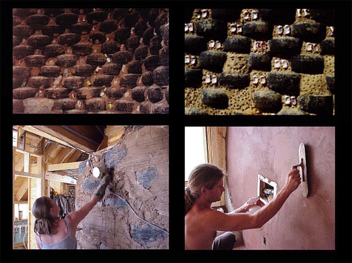 Earthship muros neumaticos reciclados vivienda sostenible