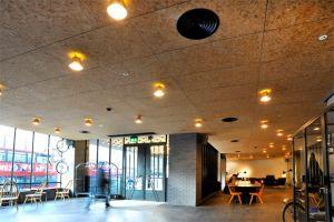 corcho aislamiento termico material acabado edificios