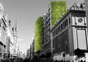 cambio climatico jardines verticales en fachadas
