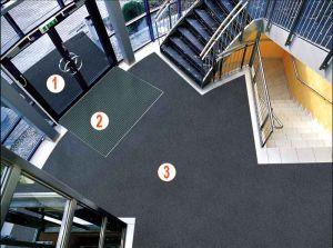 calidad aire sistema permanente entrada edificio