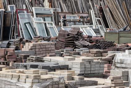 materiales recuperados construcción edificios LEED
