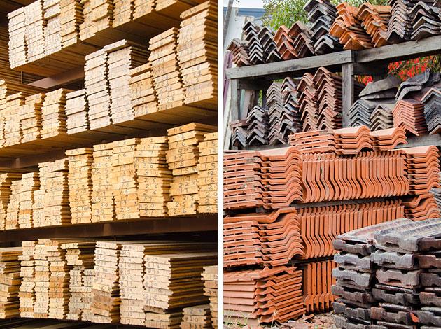 materiales recuperados economia circular edificios