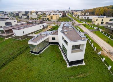 techo verde vivienda actual