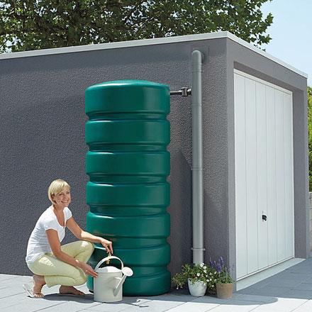 consumo responsable del agua recolectar agua de lluvia