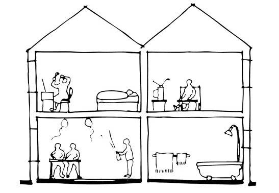 ruido transmisión entre viviendas y recintos