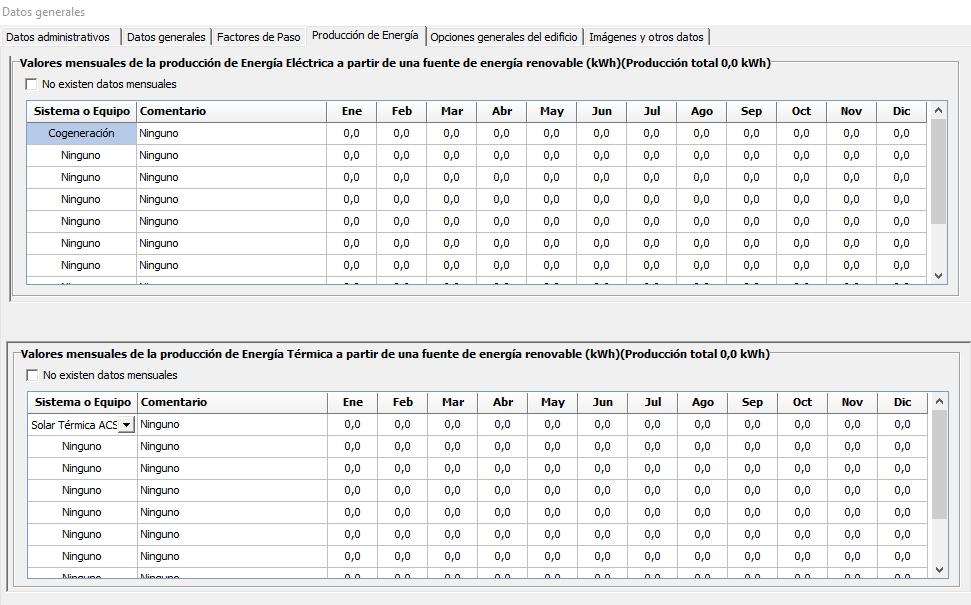 HULC datos generales produccion energia electrica y termica