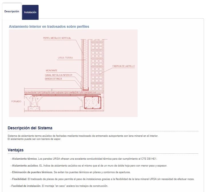 complemento de CE3X detalle constructivo