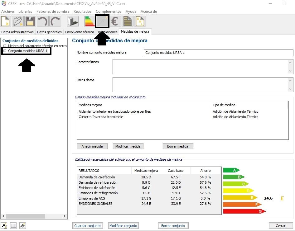 complemento de CE3X medida mejora CE3X