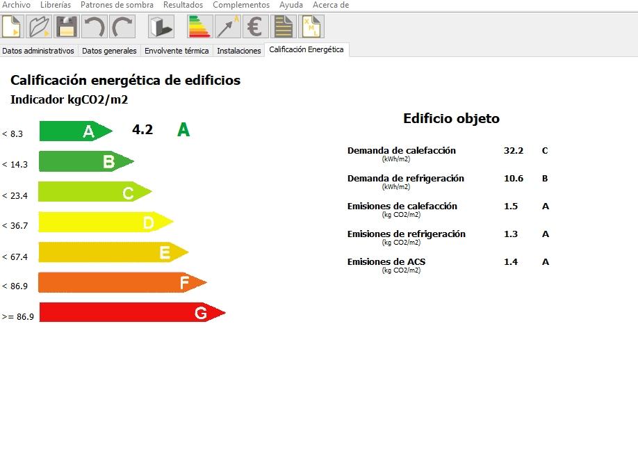 certificar edificios nuevos con CE3X Calificacion energetica