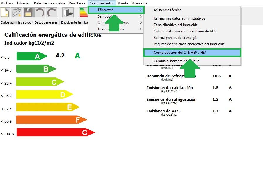 certificar edificios nuevos con CE3X complemento edificios nuevos
