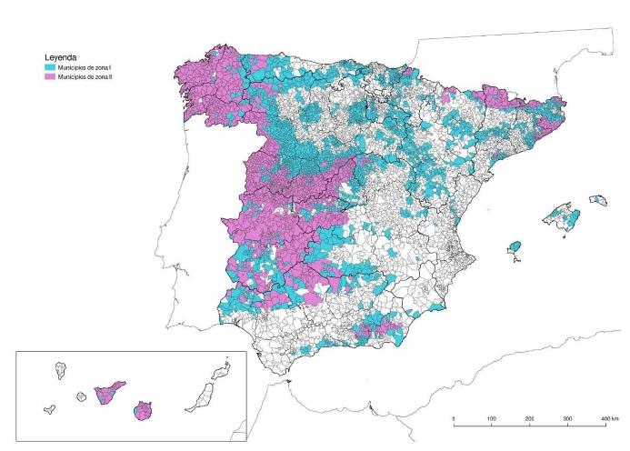 DB HS6 municipios afectados exposición al radón
